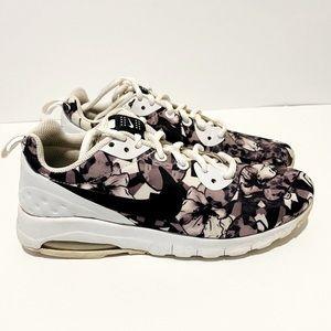 Nike Air Max Purple Flowers Sneakers